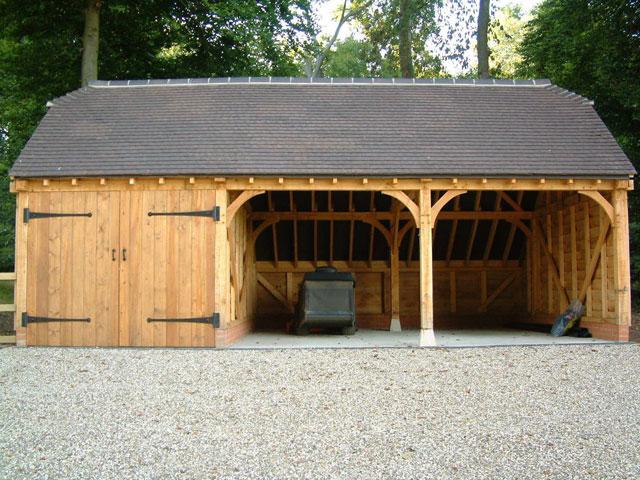 Oak Framed Garages In Oxfordshire Hampshire Berkshire