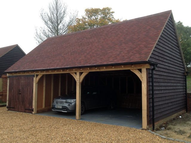 Oak Framed Garages In Oxfordshire Hampshire Berkshire