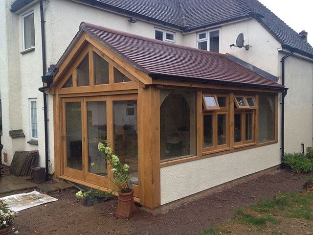 Oak Framed Garden Buildings In Oxfordshire Hampshire