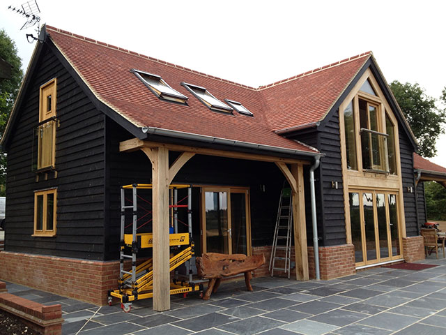 Oak Framed Houses In Oxfordshire Hampshire Berkshire And