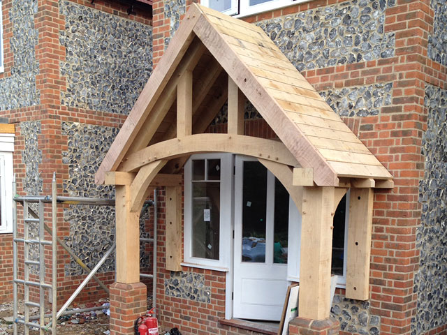 Oak Framed Porches In Oxfordshire Hampshire Berkshire