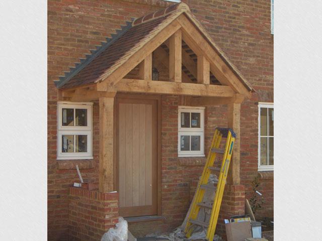 Oak Framed Porches In Oxfordshire Hampshire Berkshire