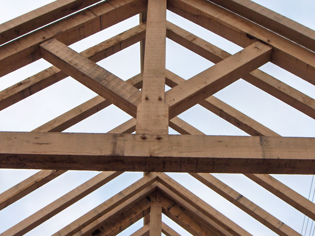 Oak Roofs And Oak Beams In Oxfordshire Hampshire